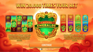Quickspin's Eastern Emeralds Feature Staggering x1,680 Multiplier
