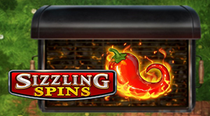 Sizzling Spins is a 5-reel slot game offering 243 different ways to win.