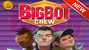 Big Bot Crew is a high variance slot machine.