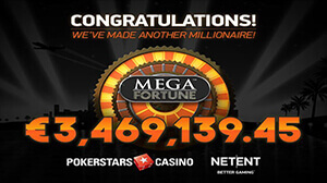Lucky German Player Wins a Staggering €3.5 Million Mega Fortune Jackpot