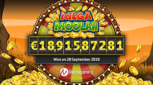 A lucky punter took home a staggering jackpot worth €18,915,872.81.