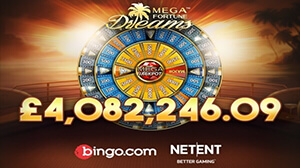 Player Takes Home Staggering £4 Million Mega Fortune Dreams Jackpot