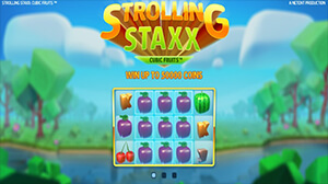 Strolling Staxx is the third game in the series following Neon Staxx and Butterfly Staxx.