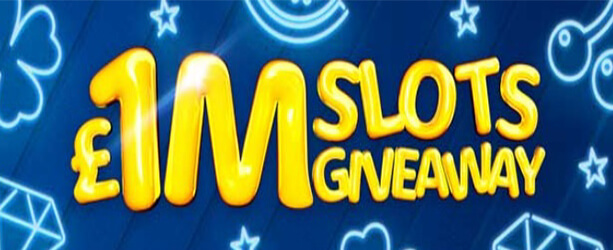 Join £1M Slots Giveaway at William Hill to Win up to £5,000