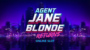 Microgaming launches the Agent Jane Blonde Returns slot.
