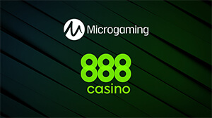 Microgaming's titles arrive at 888 Casino.
