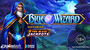Blue Wizard is the latest game to have become part of Playtech's portfolio.