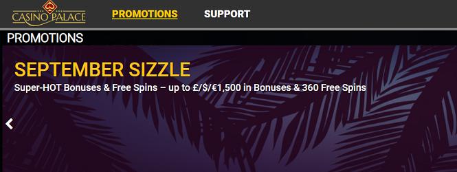 Get Free Spins and Casino Bonuses at Casino Palace