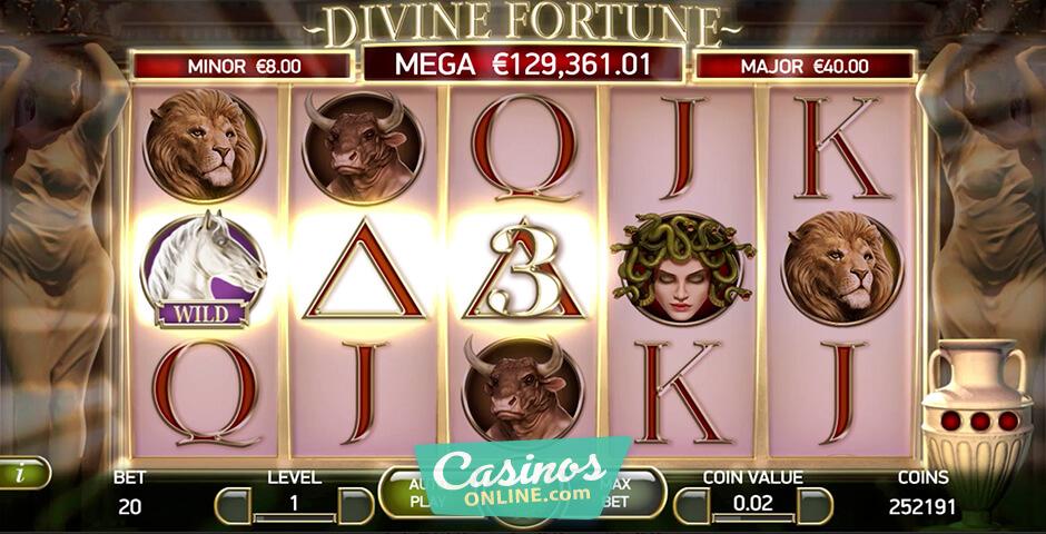 New Divine Fortune Slot