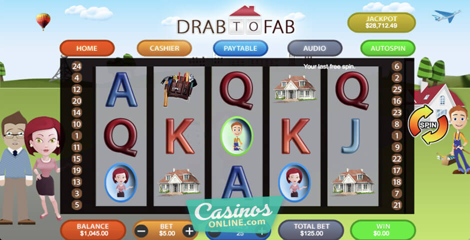 Spiele Drab To Fab - Video Slots Online