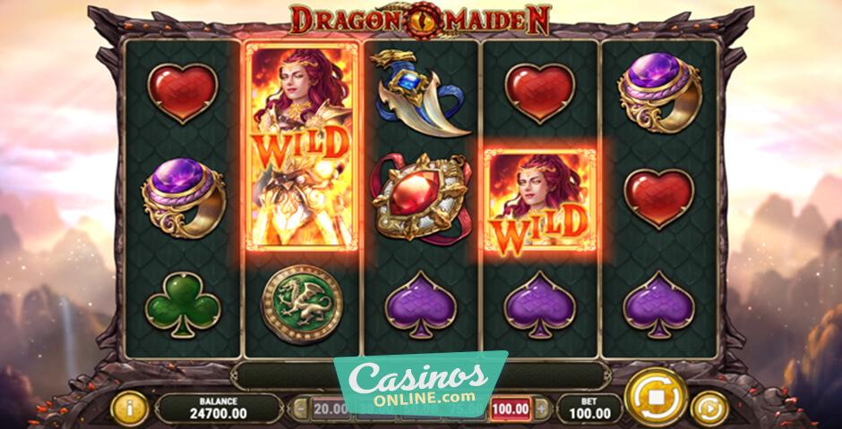 Spiele Dragon Maiden - Video Slots Online