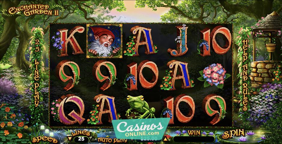 Free Slot Enchanted Garden