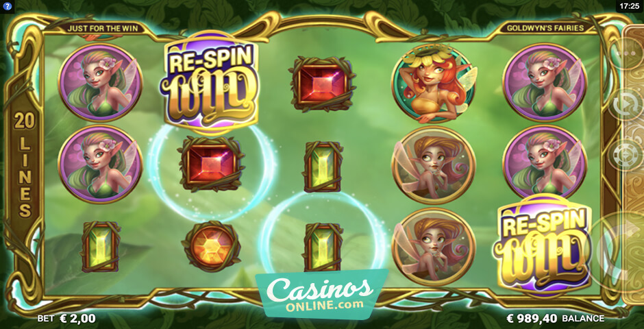 Spiele Goldwyns Fairies - Video Slots Online