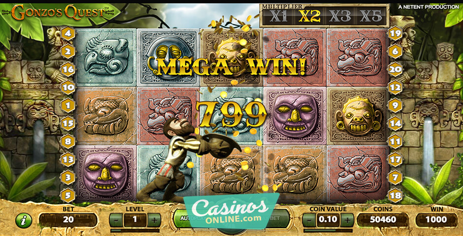 Check Out The GonzoS Quest Slot With No Download