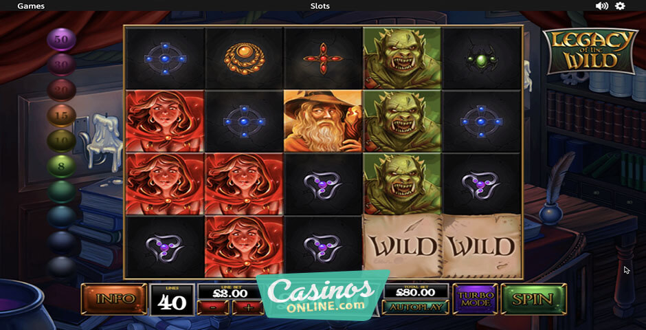 Latest experience some magic with legacy of the wild slot hunter