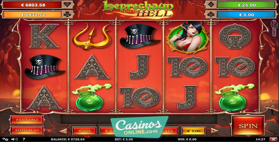 Leprechaun Goes to Hell Slot Machine