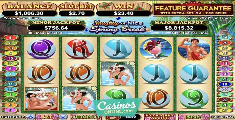 Spiele Naughty Or Nice Spring Break - Video Slots Online