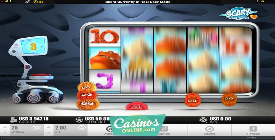 Scary Friends Slot Machine