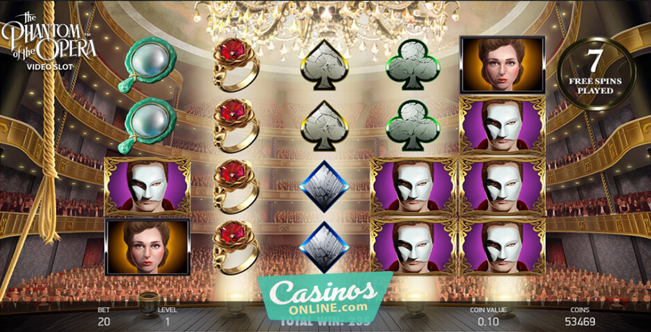 New Slot Phantom Of The Opera to Be Released by NetEnt This July
