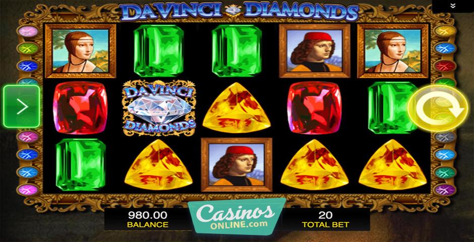 Da Vinci Diamonds Slots Review