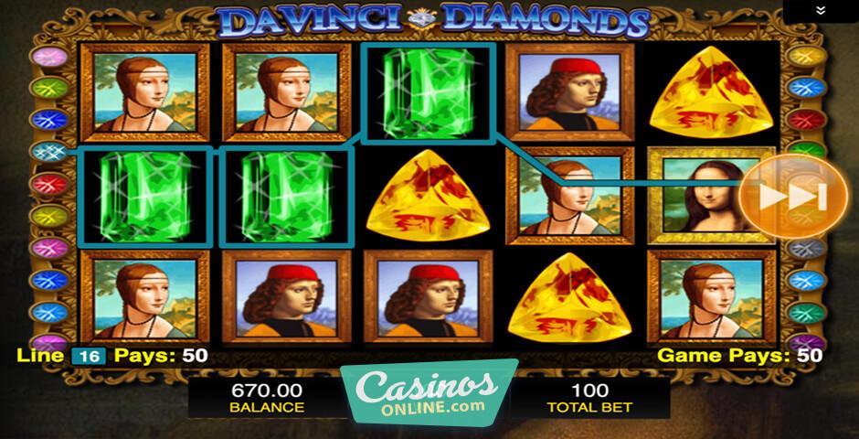 Da Vinci Diamonds Rtp