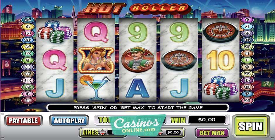Hot Roller Slot Machine