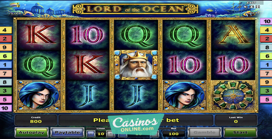 Free Slot Games Lord Of The Ocean