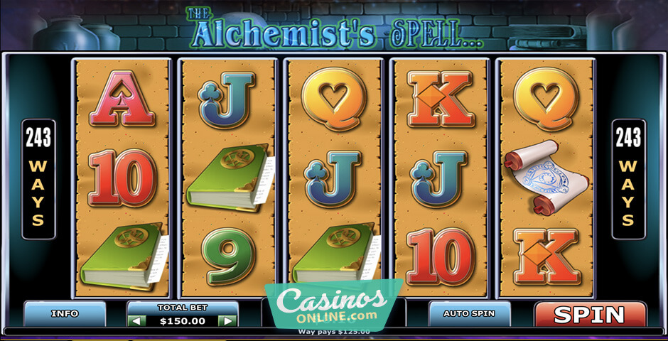 Spiele The AlchemistS Spell - Video Slots Online