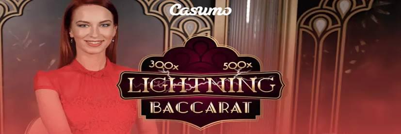 Casumo Casino Adds Evolution's Lightning Baccarat to Portfolio
