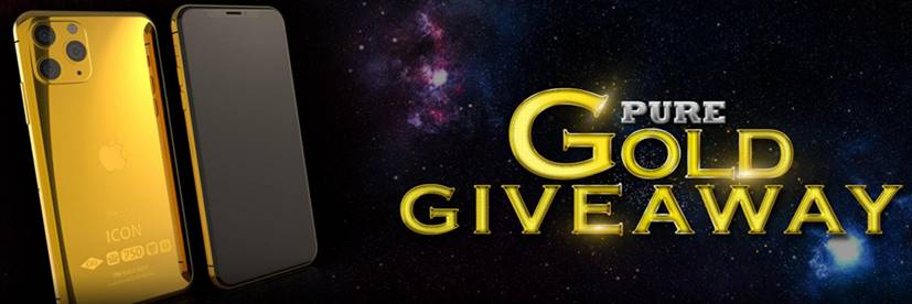 Win Gold Plated Iphone from Black Diamond Casino!