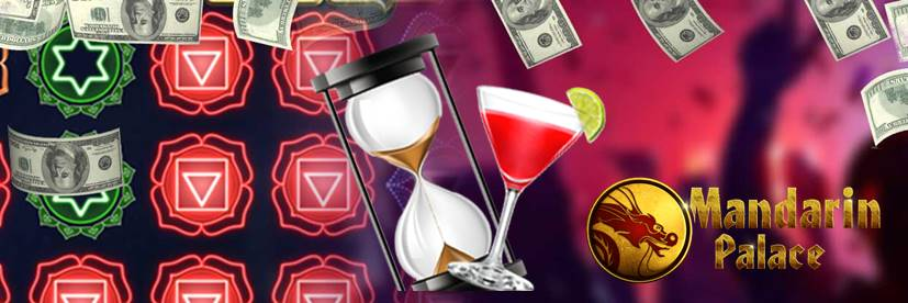 Grab Free Drinks and 50 Free Spins at Mandarin Palace Every Day