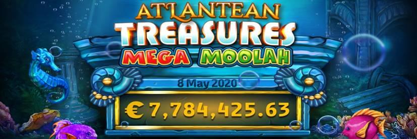 Atlantean Treasures Mega Moolah Puts a €7.7 Million Smile to Lucky Player