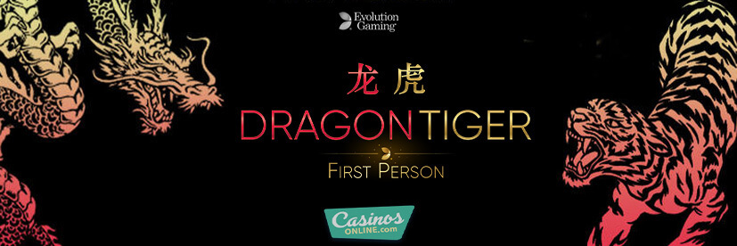 Join the Universe of Personalized Live Gaming with Evolution's First Person Dragon Tiger