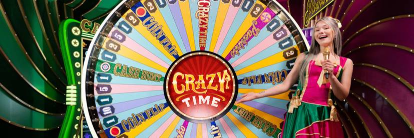 Play Crazy Time by Evolution Gaming Tomorrow! [VIDEO]