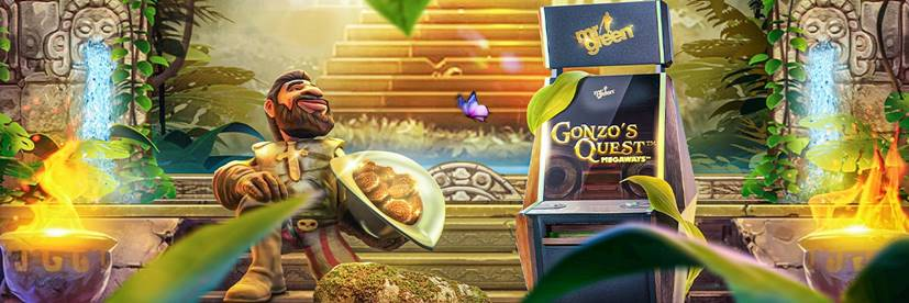 Hit Those Megaways with Gonzo's Quest at Mr Green for Free Spins Time Every Day