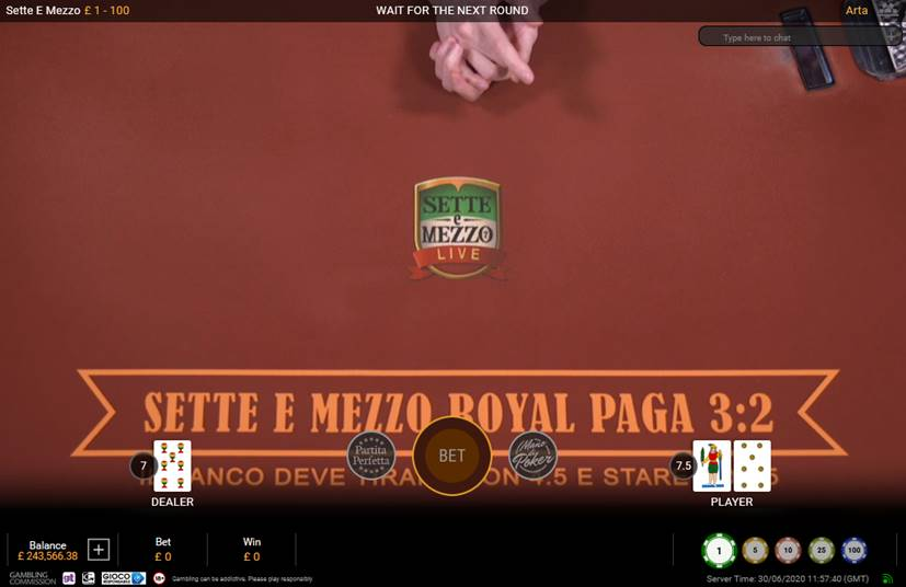 How to Play Sette e Mezzo