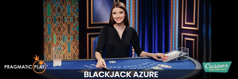 Show off Your Blue Blood with Blackjack Azure from Pragmatic Play