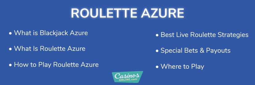 Roulette Azure Review & Strategy