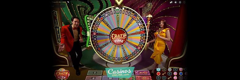 Crazy Time live game show