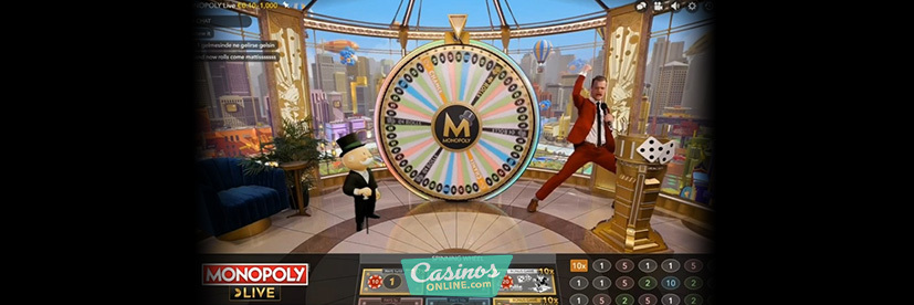 Monopoly live casino game show