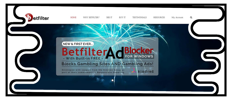 Betfilter Anti-Gambling Software