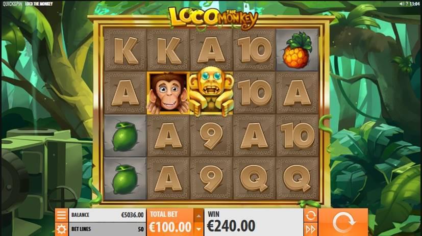 Loco the Monkey Slot Screenshot