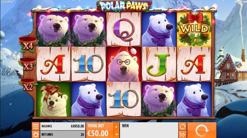Polar Paws Slot Screenshot