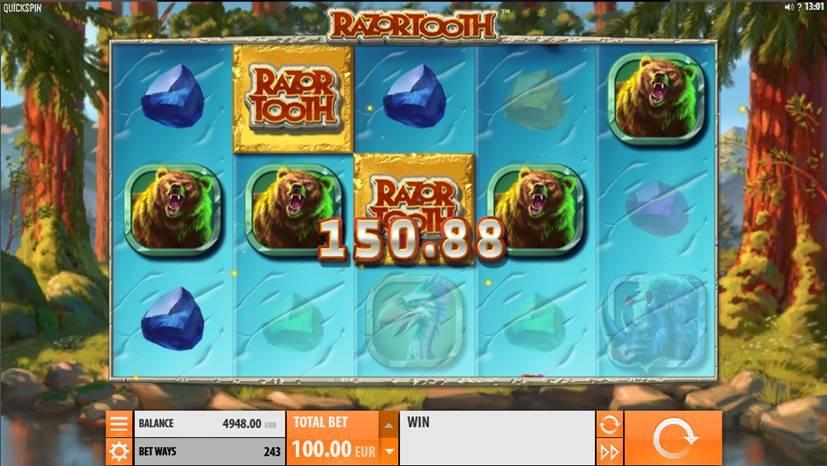 Razoortooth Slot Screenshot