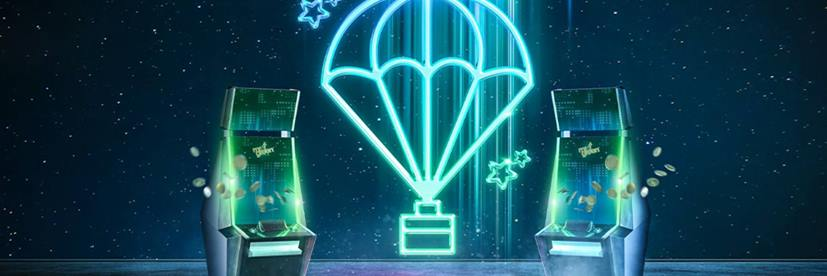 Feel the €10,000 Cashfall at Mr Green Casino