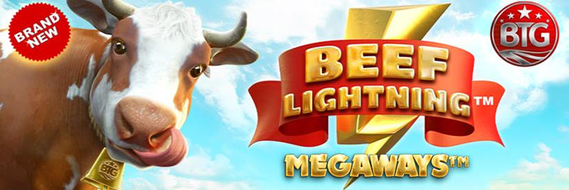 Beef Lightning Megaways Slot by BTG Out Now