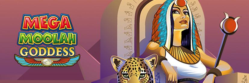 Mega Moolah Goddess Egyptian-Themed Slot