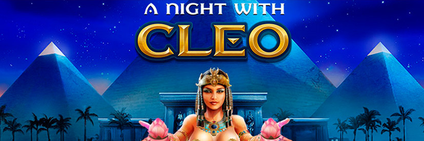 A Night with Cleo Egyptian-themed slot