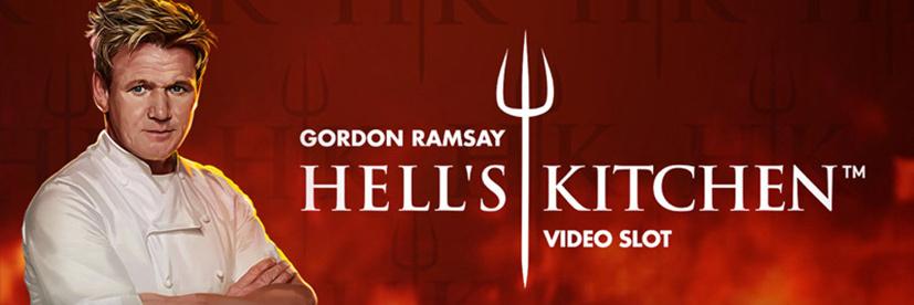 Gordon Ramsay Hells Kitchen branded slot