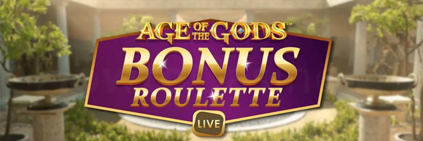 Greek casino games Age of the Gods Bonus Roulette Live